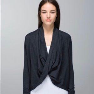 Lululemon Iconic Wrap sweater black